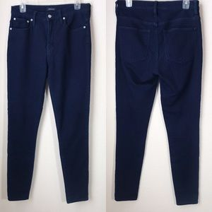 """J. Crew 9"""" High-Rise Toothpick jeggings 30T"""